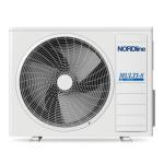 NORDline klimatizace MULTI-SPLIT SUV5-H42/3CHA-N venkovní jednotka R32
