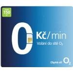 Předplacená SIM karta O2 s kreditem 150 Kč Tarif NA!VÝBĚR