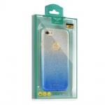 Pouzdro KAKU Ombre Huawei P10 Lite modrá 0123