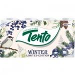 Tento Elegance Winter 3vrstvý toaletní papír, role 156 útržků, 8 rolí